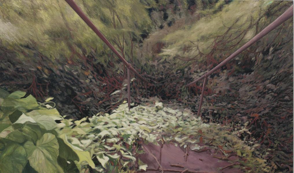 Garden, 2011,  oil on canvas, 160 x 260 cm