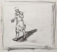 Pencil & acyclic on paper