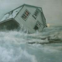 oil on canvas, 122 x 122 cm