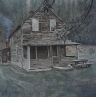 oil on canvas, 153 x 153 cm