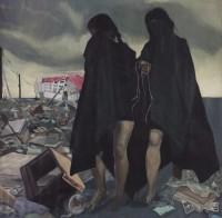 oil on canvas, 151 x 151 cm