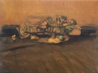 oil on canvas, 26.2 x 35 cm