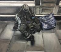 oil on canvas, 39.9 x 36.4 cm
